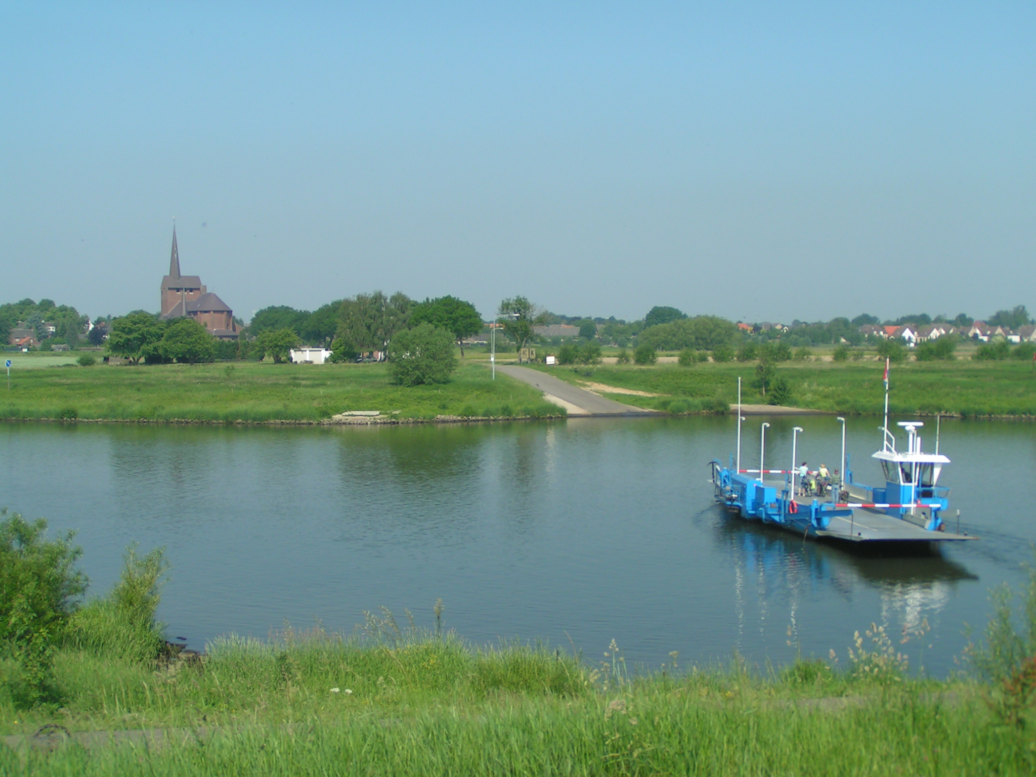 dorpsaanzicht Grubbenvorst (gem. Horst aan de Maas)