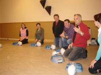 AED instructie in Heusden