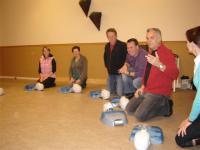AED instructie in Heusden