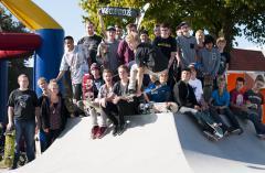 Opening nieuwe skatebaan Zeeheldenbuurt Ede